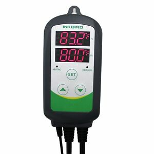 Inkbird Itc 308 Digital Temperature Controller Outlet Thermostat 2 stage