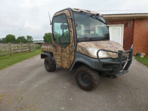 Kubota Rtv 1100 4wd Diesel Utility Vehicle Utv With Cab Heat A c 179 Hrs Exc