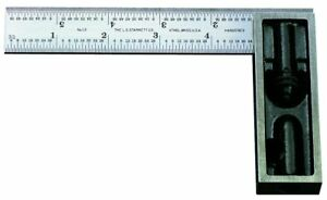 Starrett 13c 6 inch Double Square With Hardened Blade