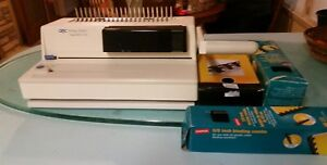 Gbc Image Maker 2000 Binding System With Various Size Binding Combs