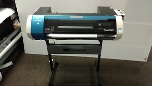 Roland Versastudio Bn 20 Desktop Inkjet Printer cutter