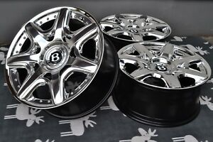 Bentley Mulliner Wheels Continental Gtc Spur 20 5x112 Audi Vw Golf Rs6 Rs4 Bbs
