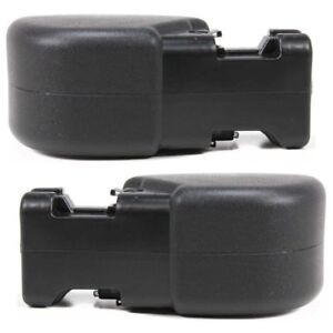 New Front Bumper End Caps Guards Set Rh Lh For 1997 2006 Jeep Wrangler