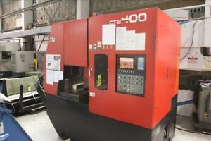 Amada Ctb400 Cnc Carbide Blade Vertical Band Saw W Conveyor B38203