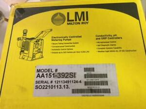 Lmi Milton Roy Aa151 392si Electronically Controlled Metering Pump
