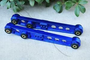 Blue Billet Aluminum Rear Lower Control Arm For 1994 2001 Acura Integra Dc2