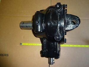 Post Hole Digger Gearbox Only New 3 1 Ratio Comer Industries