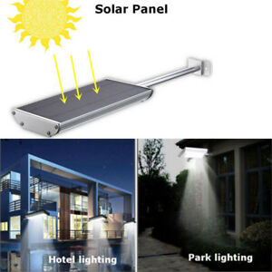 70 Led Solar Power Motion Sensor Security Lamp Outdoor Garden Street Light
