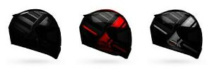 BELL RS-2 Tactical Full Face Helmet Red Black Titanium SHIPS FREE