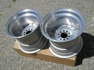 Pair Cragar Super Trick 15 X 13 Drag Wheels Mopar Ford Chevy Pro Street Vintage