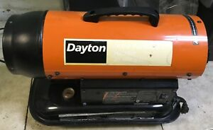 Dayton Ultra Portable Kerosene Forced Air Heater 35000btu Model 1vnx5