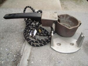 Electric Cast Iron Lead Melter Pewter Casting Mold Ladle Dipper Pot W Stand