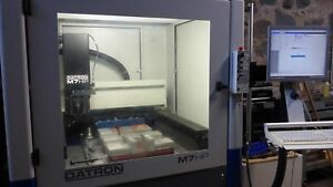 Datron M7 Hp High Precision Milling Machine Cnc Mill 48k Rpm probes Tooling