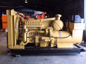 Caterpillar 275 Kw Standby Generator Set W 619 Hours