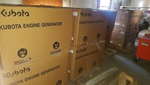 Brand New In The Box Kubota Gl7000 7kw Diesel Generator