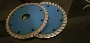 16 X 4 1 2 Diamond Turbo Convex Saw Blade Granite Concrete Stone Sink Cutter