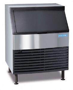Manitowoc Koolaire Ky0270a Undercounter Ice Maker Air Cooled Half Cube Style