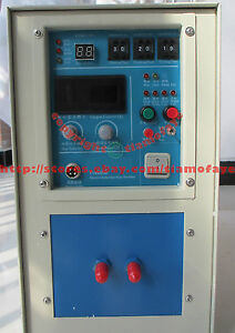 15kw 30 100khz High Frequency Induction Heater Heating Melting Furnace System