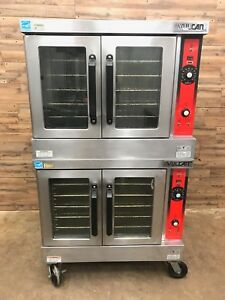 2012 Propane Vulcan Vc Series Double Deck Standard Depth Convection Oven