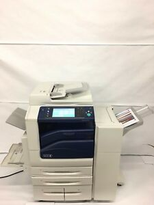 Xerox Workcentre 7535 Multifunction Copy Print Scan Fax Usb Rebuilt W 150k