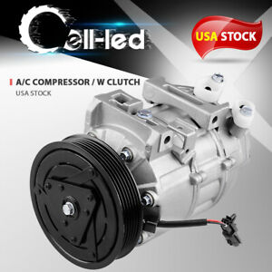A C Compressor For Nissan Altima Sentra 2 5l L4 2007 2008 2009 2010 2011 2012