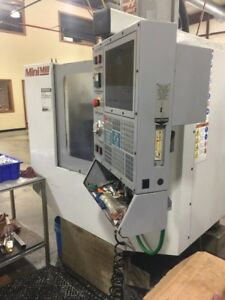Used Haas Mini Mill Cnc Vertical Machining Center Ct40 10 Atc Milling Machine 01