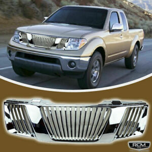 Front Mesh Grill Gloss Black Grille Fits Nissan Pathfinder 05 07 Frontier 05 08