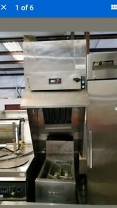 Ventless Hood bk1 fh 22 With Built In Extinguishing System free Standing