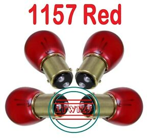 4 1157 Red Repl 1034 2057 2357 Tail Stop Light Dual Contact