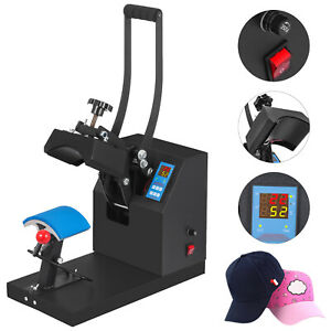 Digital Hat Cap Heat Press Machine Sublimation Transfer Steel Frame 5 5 x3 5