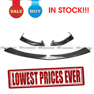 For Mazda Rx8 03 08 Early Tk Style Frp Carbon Fiber Front Bumper Lip 3pcs