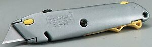 Stanley Hand Tools 10 499 Retractable Blade Quick change Utility Knife