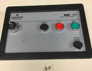 Asco 7000 Power Control System Emerson Network Power Board Fast Shipping
