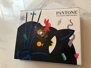 Pantone Color Specifier 1000 Uncoated Spiral Bound Library Graphic Arts Book
