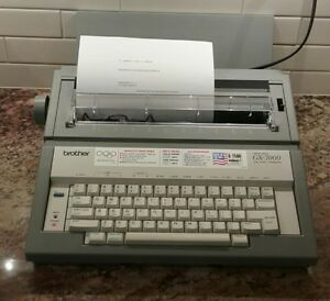 Brother Correctronic Gx 7000 Electric Typewriter Tested And Works