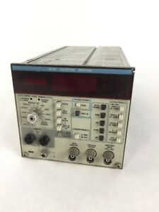 Tektronix Aa501 Input Output Harmonic Distortion Noise Analyzer Slot Module