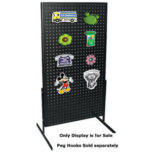 Steel Powder Coated Pegboard Countertop Display For Magnets hanging Items