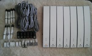 Lot Of 7 Dymo Mimio Teach Interactive Whiteboard System Bar Pen Usb Cable
