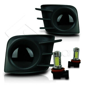 For 11 12 13 Scion Tc Fog Lights With Wiring Kit Cob Led Bulbs Super Smoke