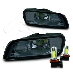 06 07 Honda Accord Inspire 4dr Fog Light W wiring Kit Cob Led Bulbs Smoke