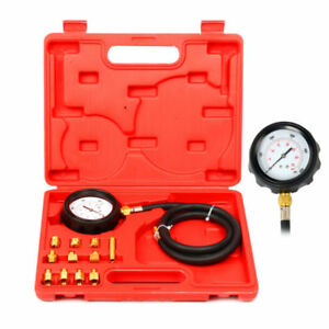 Auto Transmission Oil Pressure Tester Gauge Engine Diagnostic Test Kit 500psi