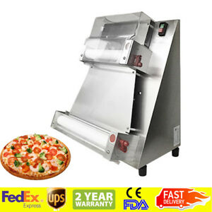 Electric Pizza Bread Dough Roller Sheeter Machine Pizza Making Machine Usa Ship
