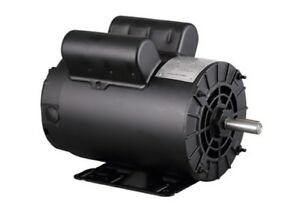 Electric Air Compressor Motor 5hp Spl 3450rpm 208 230v Free Shipping 1 Phase