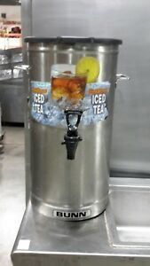 Used Bunn tdo 4 4 Gallon Tea Dispenser