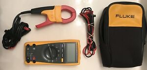 Fluke 175 True Rms Multimeter Fluke I400 400 Amp Ac Current Clamp Case