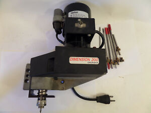 Gerber 220v Spindle Motor Assembly Dimension 200 cnc Router Head antares Bit