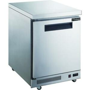 Commercial Kitchen Single Door Stainless Steel Undercounter Refrigerator 29