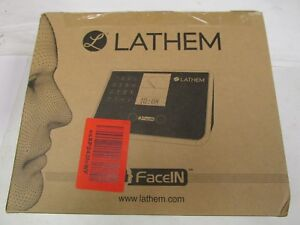 New Lathem Facein Face Recognition Time Clock System 500 Employees Fr650 kit
