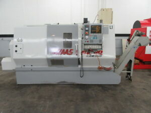 Haas Sl 30 Big Bore Cnc Turning Center With Tailstock