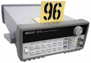 Hp 33120a Function arbitrary Waveform Generator Tag 96